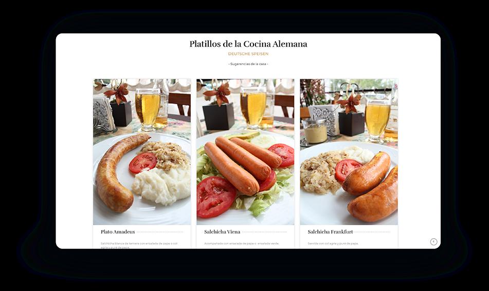 PANTALLA menu amadeus 2